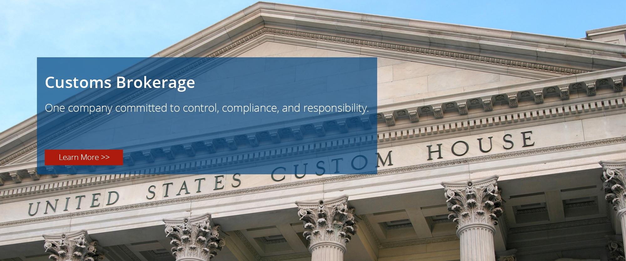 Customs Brokerage, Customs Import, Customs Export, CFS Station